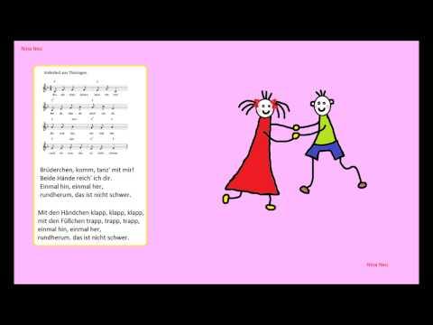 С помощью этой песни отлично тренируется произношение немецкого языка, особенно звук r.