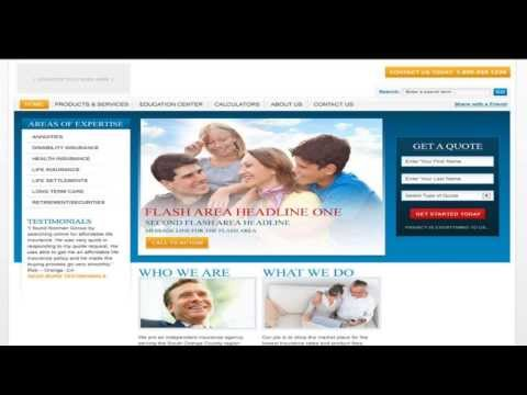 Insurance Agent Website - IMS Associates
