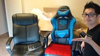 dxracer racing series unboxing review i leveled up oh rj001 nb zero