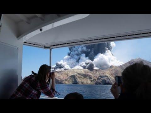 Polo menos cinco mortos tras a erupción dun volcán en Nova Zelandia