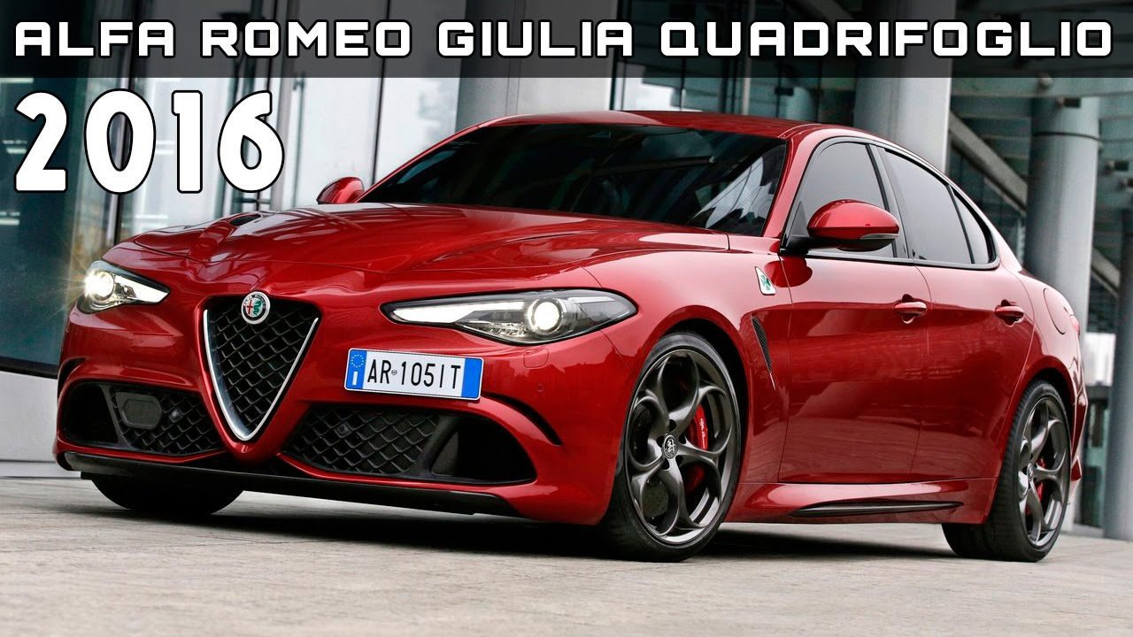 2016 alfa romeo giulia quadrifoglio review rendered price specs release date youtube. Black Bedroom Furniture Sets. Home Design Ideas