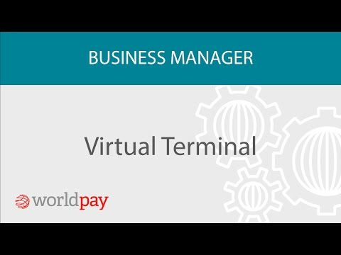 Virtual  Terminal - Processing payments over the phone