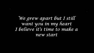 Want You Back - Mandy Moore w/ lyrics