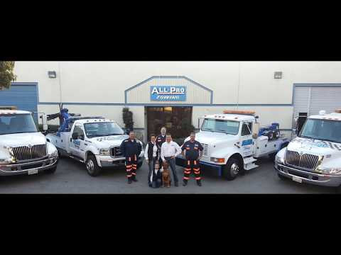 Private Property Towing - Towing Gilroy, CA | 408-842-9090 | All Pro