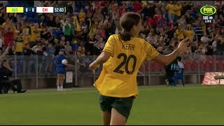 Full-time highlights: Westfield Matildas v Chile