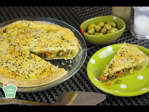Meat And Vegetables Pie - Episode 151 - Amina Is Cooking