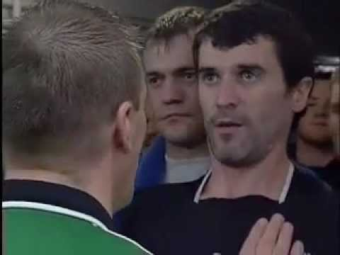 Roy Keane and Patrick Vieira fight in tunnel at Highbury
