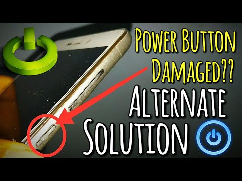 Power Button Damaged & Not Working Solution   Use Phone without Power Button   Hindi - हिंदी