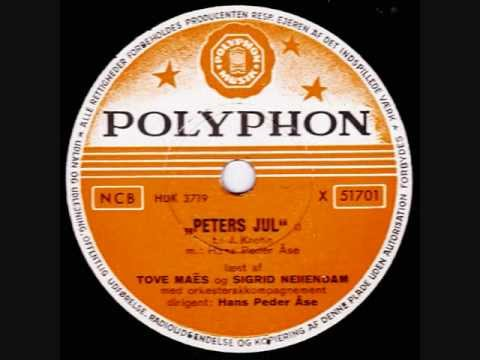 Peters Jul Tove Maes Mogens Wieth Sigrid Neiiendam 1954
