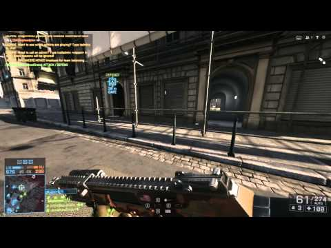 (RPK-12) Battlefield 4: Conquest - Operation Metro 2014 W/ Live Commentary