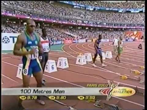 2003 World Championships (100m Quarter-Finals #1 & #4) - Maurice Greene/Ato Boldon - Paris, France