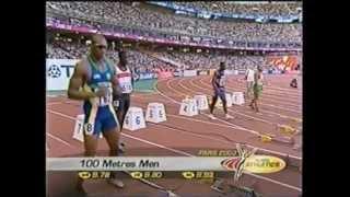 2003 World Championships (100m Quarter-Finals #1 & #4) - Maurice Greene/Ato Boldon - Paris, France