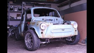 Умелец из Пензы сделал  Невероятно красивый  проект из  ЗАЗ 965 купе .