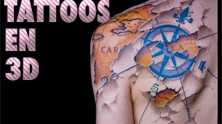 8 Impresionantes Tatuajes Realistas En 3d Que Te Dejaran Con La Boca