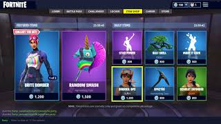 Fortnite Item Shop For May 29th - Star Power IS BACK! Sunshine And Rainbows Set Skins Back!