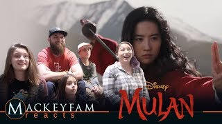Disney's Mulan | Official Trailer- REACTION and REVIEW!!!