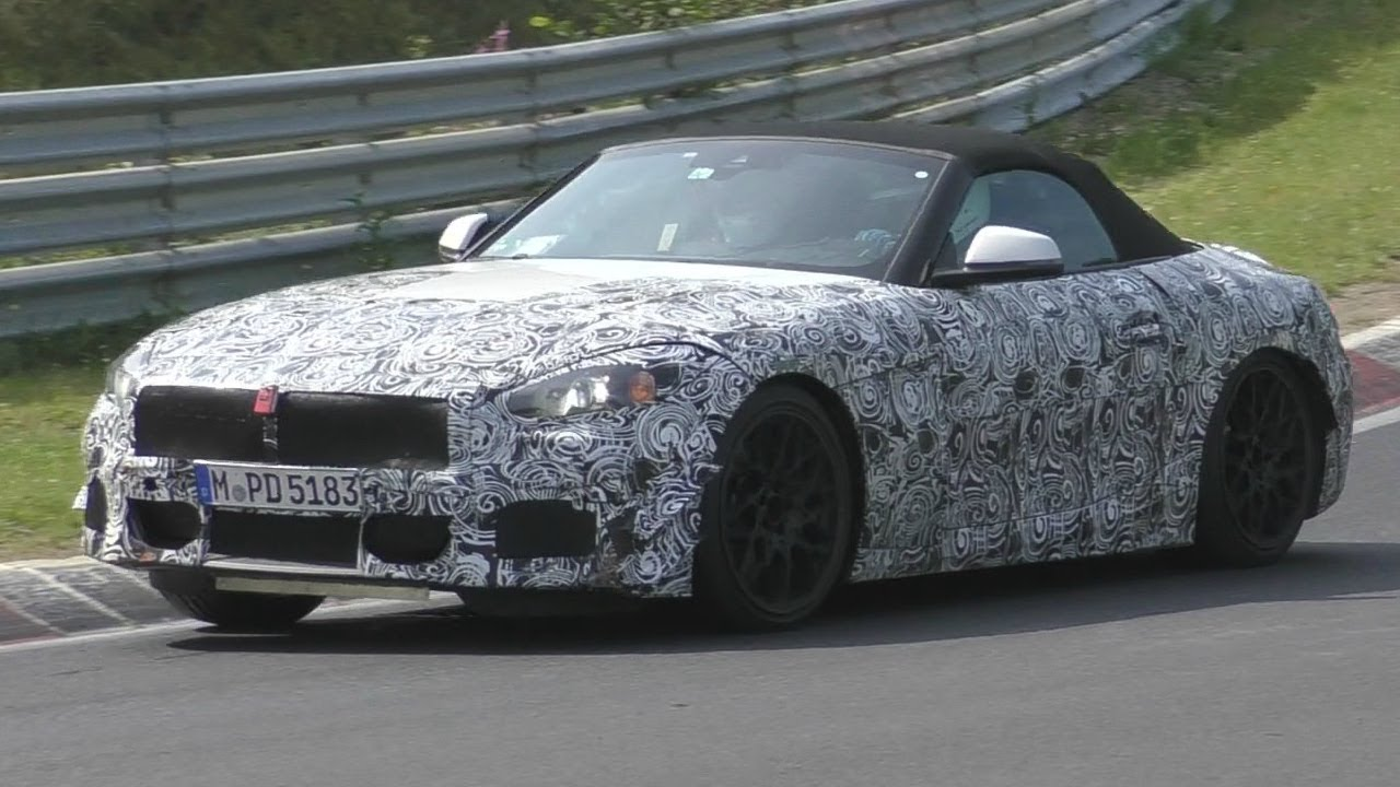 Bmw Z4 M40i Spied Testing On The Ring Bmw Forums Spoolstreet