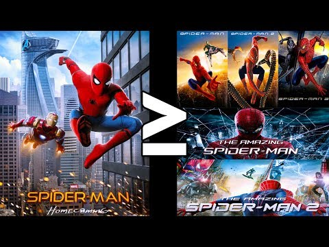 Is Spider-Man: Homecoming Better Than All Of The Other Spider-Man movies?