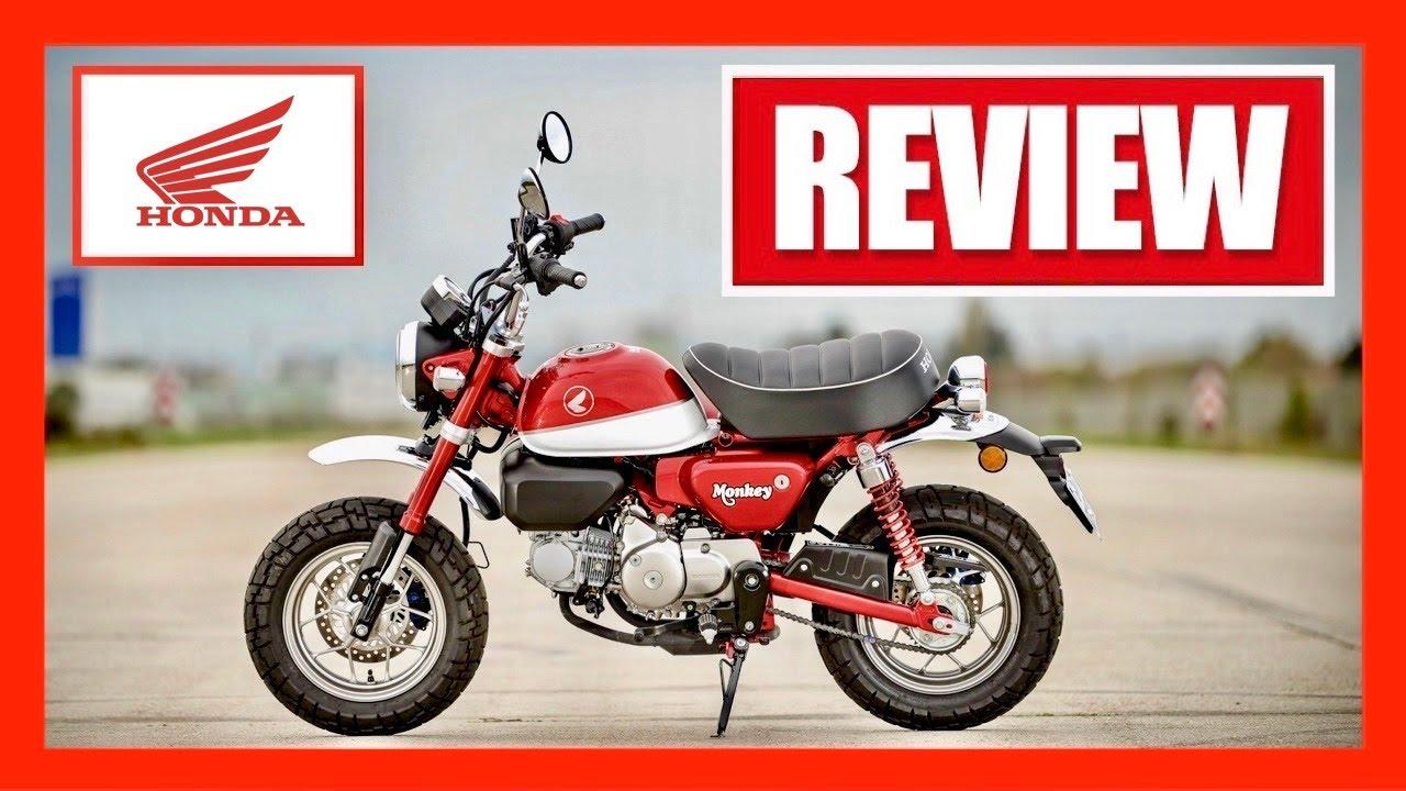 (2021) Honda Monkey — Motorcycle Review - YouTube