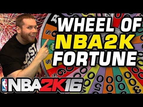 NBA 2K Wheel of Fortune