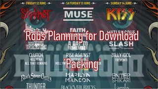Download Festival 2015: Packing