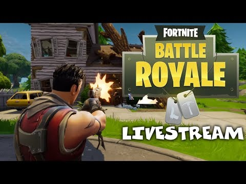 Dropping into the Hot Zones - Fortnite Battle Royale Xbox One Gameplay - Livestream