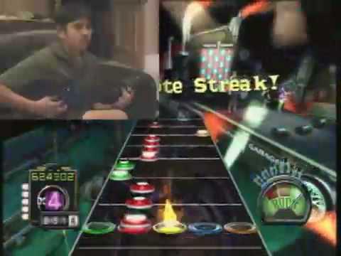 Guitar Hero III Legends of Rock World Record  - Danny Johnson