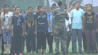 1st Time Woman Army Bharti in Ambala   #JoinIndianarmy