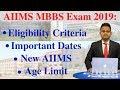 AIIMS 2019 | Important Dates | Eligibility Criteria | Registration | MBBS Seats | New AIIMS