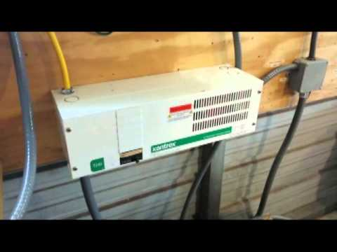 Solar Power Grid Tie System With Battery Backup