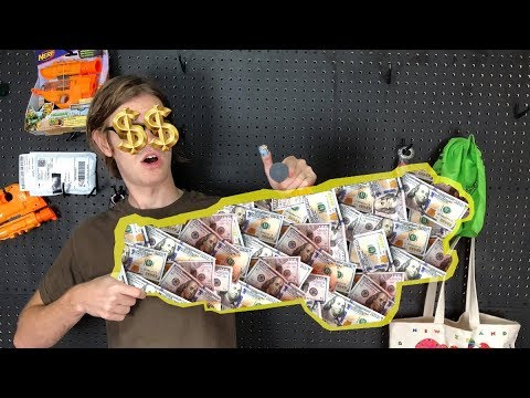NERF TOP 5: Most Expensive Blasters of All Time!