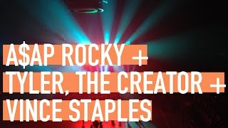 A$AP Rocky + Tyler The Creator + Vince Staples concert in Eugene
