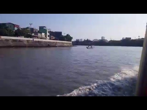 Fast Motion: Pasig River Ferry (Lambingan to Valenzuela)