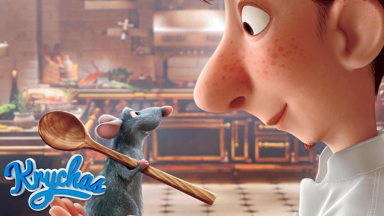 Ratatouille Aşçı Fare | Herkes Yemek Yapabilir! | HD - YouTube
