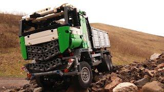 Lego Technic Motorized Dump Truck
