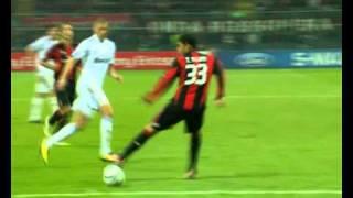 AC Milan 2 - Real Madrid 2 HD. Cristiano, Pepe e Iker en zona Mixta. 3/11/2010