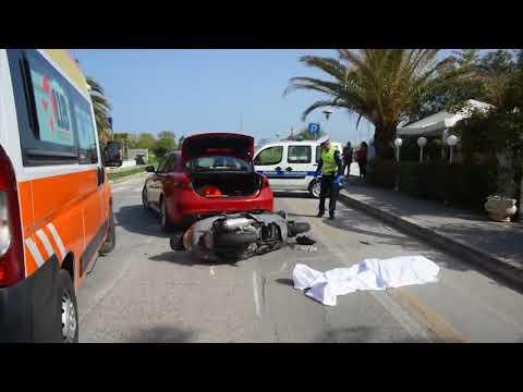 MISANO ADRIATICO: Incidente mortale vicino alla stazione, vittima scooterista 37enne | VIDEO