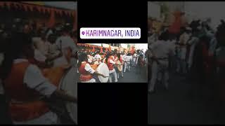 ||Hindhu ekta yathra || karimnagar || Jai sri ram || Jai hanuman ||🙏