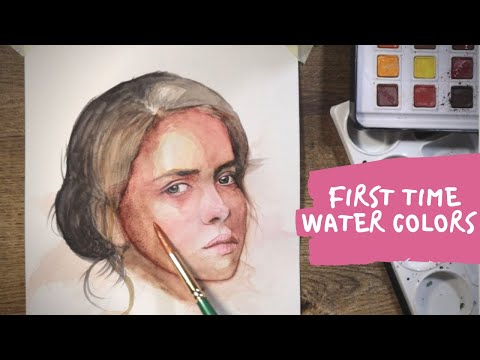 Aise hote hai fail 🤣 | first time water color experiment