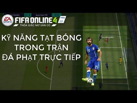THÀNH HÒA   FIFA ONLINE 4 KỸ NĂNG   TẠT BÓNG TRONG TRẬN VÀ KHI ĐÁ PHẠT