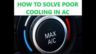 AC में कम कूलिंग को कैसे सही करें ??