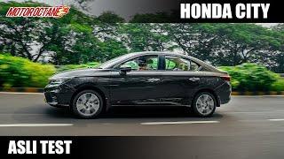 New Honda City Asli Test - Segment best?