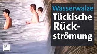 Gefahr in der Wasserwalze: Was passiert mit unvorsichtigen Schwimmern?