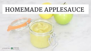 Tangy Lemon Applesauce | Quick Healthy Easy Recipe | Limoneira