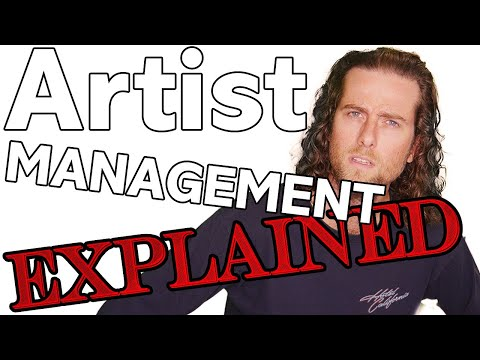 Artist Management for the MUSIC BUSINESS explained & how to be a good artist manager!