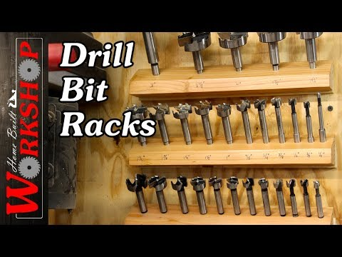 How to make a Drill Bit Rack