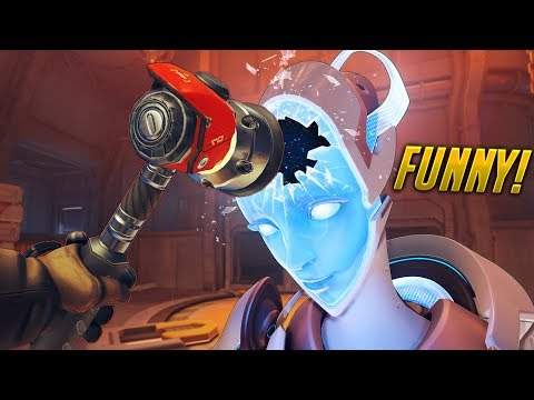 100 FUNNY MOMENTS  of Overwatch