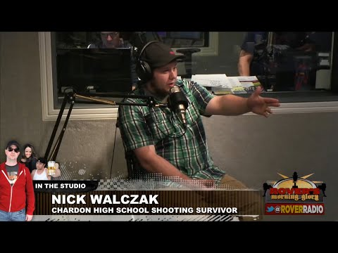 Chardon school shooting survivor Nick Walczak tell his story publicly for the first time