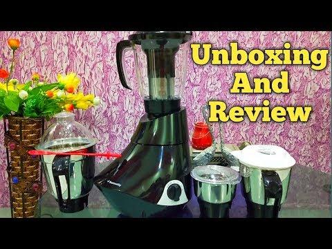 Butterfly Rapid Smart Unboxing 750-Watt Mixer Grinder with 4 Jar (Grey) juicer mixer grinder