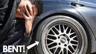 I Bent My Bbs Replica Wheels Youtube